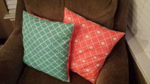 Throw Pillows!